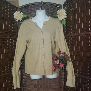 J.Crew Sweater color Tan good condition